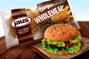 Try our Wholemeal Burger made with wholemeal flour.